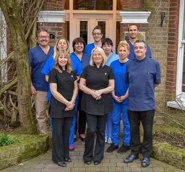 The team at Eltham Park Dental Practice.